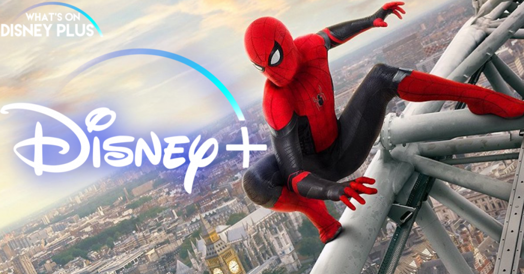 Spider-Man far from home Disney Plus