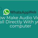 Whatsapp web video call